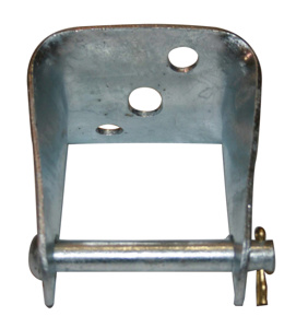 Hubbell Power Insulator Clevis Galvanized Steel