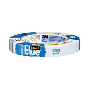 3M ScotchBlue™ 2090 Series Painter's Masking Tape Blue 60 yd 0.75 in