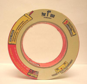 3M 2050 Series Masking Tape for General Painting 60 yd 1.88 in