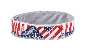 Ergodyne Chill-Its® 6605 High-Performance Headbands One Size Fits Most Graphic - Stars and Stripes