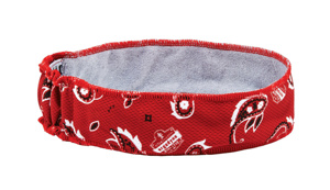 Ergodyne Chill-Its® 6605 High-Performance Headbands One Size Fits Most Graphic - Red Western