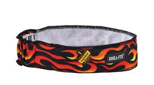 Ergodyne Chill-Its® 6605 High-Performance Headbands One Size Fits Most Graphic - Flames