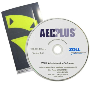 Zoll AED Plus 2010 Guidelines CD Upgrades
