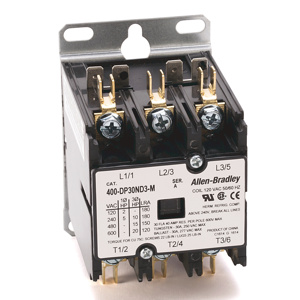 Rockwell Automation 400-DP Definite Purpose Contactors 30 A 120 V