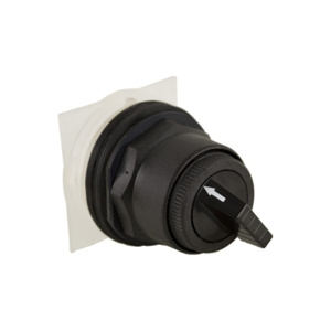 Square D Harmony™ 9001SK 30 mm Selector Switches Selector Switch 2 Position NEMA 30.5mm Non Metallic Black