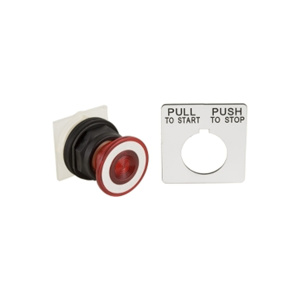 Square D Harmony™ 9001SK 30 mm Push Buttons 30.5 mm Red NEMA 30.5mm Non Metallic