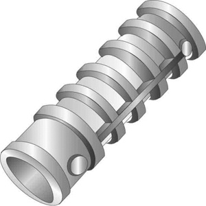 Minerallac Cully™ Lag Screw Shields 3/8 in Lead