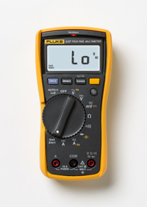 Fluke Electronics 117 Electrician's Ideal Multimeters 600 Ω- 40 MΩ