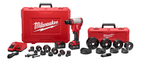 Milwaukee M18™ FORCELOGIC™ High Capacity Knockout Kits