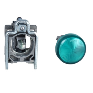 Square D Harmony® XB4 22 mm Pilot Lights Green 22 mm Illuminated