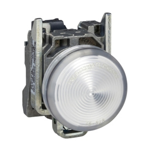 Square D Harmony® XB4 22 mm Pilot Lights White 22 mm Illuminated