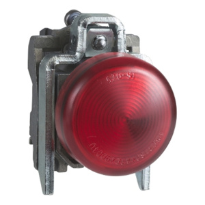 Square D Harmony® XB4 22 mm Pilot Lights Red 22 mm Illuminated