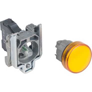 Square D Harmony® XB4 22 mm Pilot Lights Orange 22 mm Illuminated